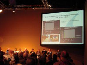Plusieurs intervenants ont présenté leurs actions et stratégies au cours de la conférence