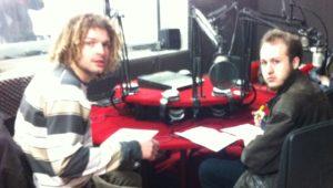 Maxime et Benoit en studio chez radio Grenouille