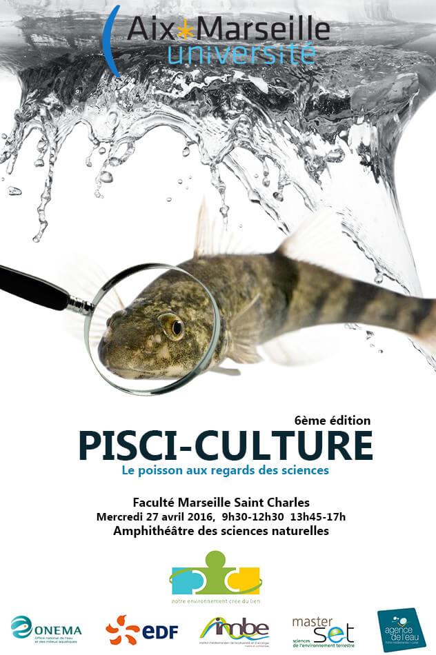 affiche du colooque pisci-culture 2016