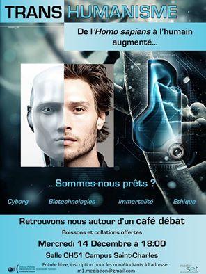 transhumanisme : de l'Homo sapiens à l'humain augmenté