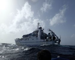 L'Antéa, navire Océanographique de l'IRD